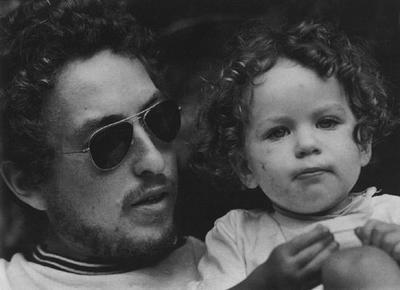 Anna Leigh Dylan Bob Dylan With daughter Anna